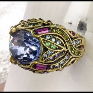 Heidi Daus Swarovski Crystal Ring